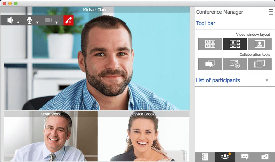 Vysoce kvalitní videokonference