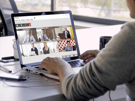 Videokonference přes Internet